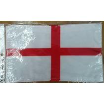 Bandera De Inglaterra .90x1.58 Mts Poliester Satinado