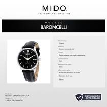Mido Caballero M0134101605100 Baroncelli 38mm Cuarzo Suizo
