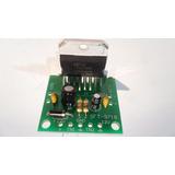 Kit P/ Armar Amplificador Stereo Estudiantes Electrónica Diy