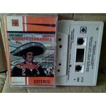Audio Cassette Vicente Fernandez, Un Mexicano En La Mexico