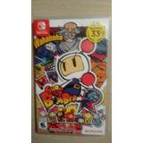 Sólo Caja Super Bomberman R Nintendo Switch Sin Juego