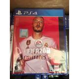 Fifa 20 Ps4 Nuevo Sellado Playstation Incluye La Champions
