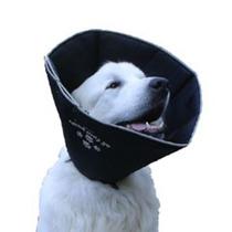 Cono Del Perro - Grande Cómodo Negro 10inx 25cm Cirugía Re
