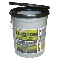Reliance Productos Luggable Loo Portátil Wc 5 Galones