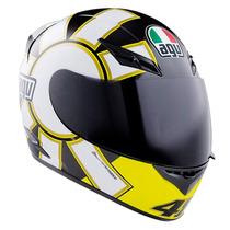 Casco Agv Moto K3 Street Road Gothic Valentino Rossi Talla L
