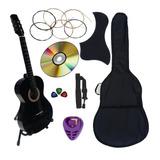 Guitarra Acustica Nuevo Paquete Mas Completo De Accesorios