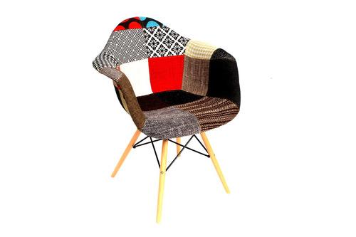 Silla eames tapizada con descansabrazos 2882 yt4gi for Cuanto cuesta una silla