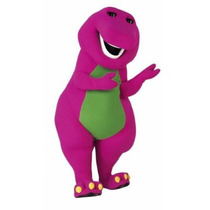 Botarga Disfraz Traje Tamaño Adulto Oferta Barney Hm4