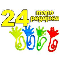 24 Mano Pegajosa Flexible Colores Rojo Amarillo Verde Y Azul