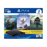 Sony Ps4 Hits Bundle Playstation 4 Slim 1tb 3 Juegos 12msi