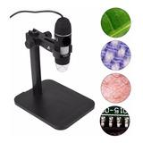 Microscopio Digital Usb 1000x Zoom Óptico Cámara 8 Led Xp Pc