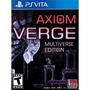 Axiom Verge Multiverse Edition - Ps Vita ( Nuevo )