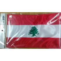 Bandera De Libano .90x1.58 Mts Poliester Satinado