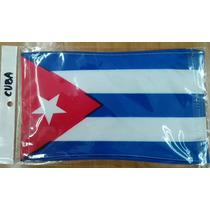 Bandera De Cuba .90x1.58 Mts Poliester Satinado