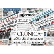 Periodico,la Jornada,milenio,el Financiero,esto.record !