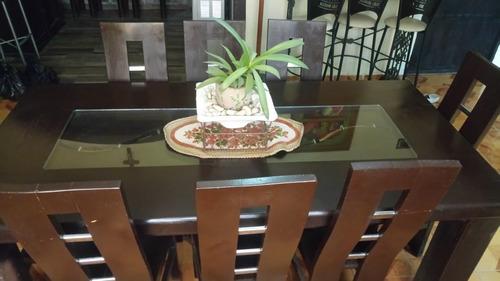 Comedor Usado 8 Sillas 100% Madera Envio Y Venta Cuernavaca ...