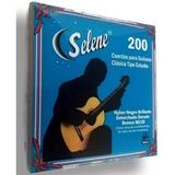 Selene 200 Cuerdas Para Guitarra Clásica Nylon