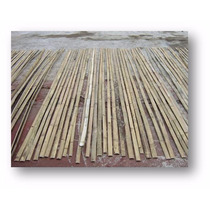 Pieza De Bambu Reglilla / Laminilla / Tablilla (2 Metros)