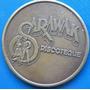 Ficha Mexico Disco Sarawak Años 70¨s Broze Excelente