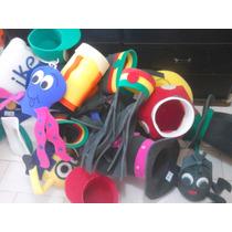 Paquete De 50 Sombreros De Hule Espuma