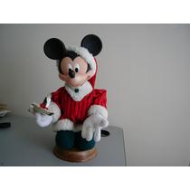 Mickey Mouse Santa Con Vela