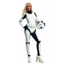 Star Wars Disfraz Traje Stormtrooper Mujer Adulto Talla Xs