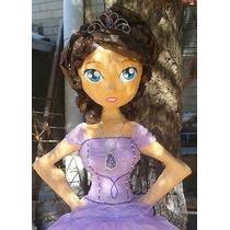 Hermosa Piñata Princesa Sofia Cuerpo Completo
