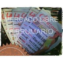 Periodico La Corazonada De Melate.pronosticos!oferta Única!!