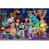 Poster Toy Story 4,  Kit 3 Piezas.