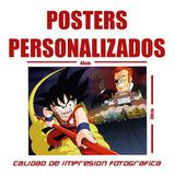 Poster Personalizados 30x44 Cm