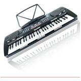 Teclado Musical Con Eliminador Microfono Y Metodo  Gratis Ax