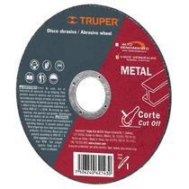Disco Abrasivo Corte De Metal 4 1/2 Pulgadas Truper 10664