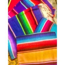 Sarape De Saltillo Artesanía 100% Mexicana Individual