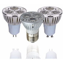 Foco Led Dicroico E27 Y Mr16 De 3w 127 Volts