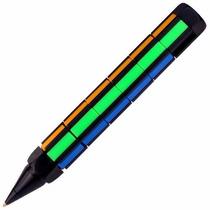 Pluma Armable Tipo Rubick Puzzle Pen 6x6 Entrena Tu Mente