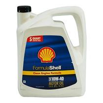 Aceite Para Motor A Gasolina Shell 10w40 4.7 Litros.