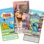 Invitaciones Infantiles Personalizadas Ticket Imprimibles