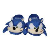 Pantuflas Peluche Sonic No 3 - 7