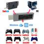 Magic-ns Adaptador Nintendo Switch Control Pro Xbox One Ps4