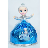 Princesas Disney Bella Blanca N. Cenicienta Ana Sofia 27cm
