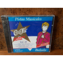 Balada. Pistas Musicales. Vol. 28. Cd.