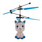 Pk Mini Dron Unicornio Niños Sensor Juguetes Niñas A143