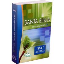 Biblia Letra Grande Reina Valera Contemporanea Rústica Rvc