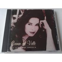 Carmen Del Valle Con El Mariachi America Cd Promo Rarisimo