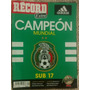 Revista Record, Mexico Campeon Sub-17, Año 2011