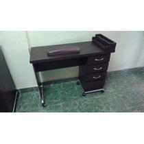 Muebles Salon De Belleza Ó Estetica- Mesas Manicure Uñas Vbf