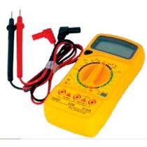 Multimetro Digital Profesional Con Alarma Adir