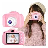 Cámara Digital Para Niños Foto + Video Hd1080p Rosado