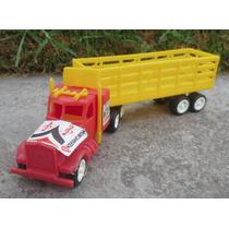 Antiguo Y Raro Camion Trailer Kenworth Redilas De Coleccion!