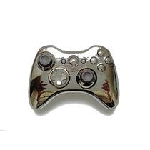 Carcasa Control Xbox 360 Cromada Gun, Pistola.